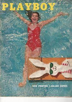 Vintage Playboy Magazine june 1956 mens adult glamour magazine | eBay