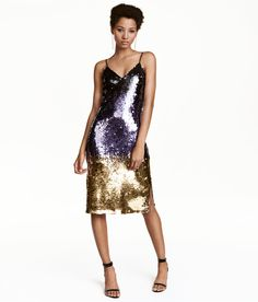 Sequined Dress   Party in H&M