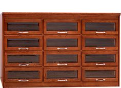 Reproduction cabinets.