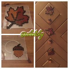 Autumn beads perler - Herbst Bügelperlen Source by You may believe the a Perler Bead Designs, Diy Perler Beads, Pearler Bead Patterns, Perler Bead Art, Perler Patterns, Pearler Beads, Quilt Patterns, Leaf Crafts, Diy And Crafts