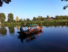 Fluisterboot huren, varen in het Groene Hart, omgeving Biesbosch - De Chinese Schouw