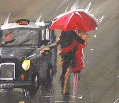 """""""Getting Out of the Rain"""" by Pete Rumney"""