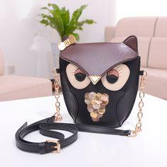 $8.64 (Buy here: https://alitems.com/g/1e8d114494ebda23ff8b16525dc3e8/?i=5&ulp=https%3A%2F%2Fwww.aliexpress.com%2Fitem%2FFashionable-Cute-Night-Owl-Print-Bag-for-Women-Quality-PU-Leather-Satchel-Shoulder-Messenger-Bag-Hot%2F32659134024.html ) Fashionable Cute Night Owl Print Bag for Women Quality PU Leather Satchel Shoulder Messenger Bag Hot sale Female Crossbody Bag for just $8.64