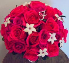 I need a little rhinestone 'F' in my bouquet...