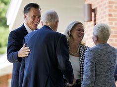 #24 Oct. 2, 2012 Both Candidates Leave God Off The Campaign Trail     Republican presidential candidate Mitt Romney and his wife, Ann, at the Church of Jesus Christ of Latter-day Saints in Wolfeboro, N.H. The candidate regularly attends church, but he rarely invokes religion on the campaign trail.