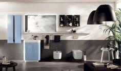 Idro Bathroom - Scavolini by Scavolini Kitchen, Living and Bathroom with artemide Nur