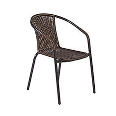 Wilson & Fisher® Resin Wicker Barrel Stack Chair at Big Lots.