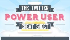 The Twitter Power User Cheat Sheet [Infographic]