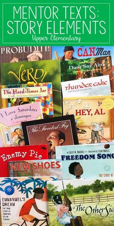 If you are looking for story elements mentor texts or read alouds for teaching story elements, definitely check out this post. The teacher shares 15 read alouds with brief summaries and the specific story element skills each read aloud addresses. Reading Lessons, Reading Skills, Guided Reading, Close Reading, Reading Groups, Teaching Reading Strategies, Reading Help, Shared Reading, Writing Strategies