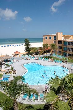 Dolphin Beach Resort in St. Pete Beach, FL US...I Will Be Staying Here For My Trip Next Week