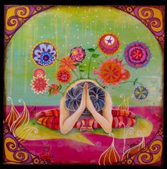 yoga paintings art - Google Search
