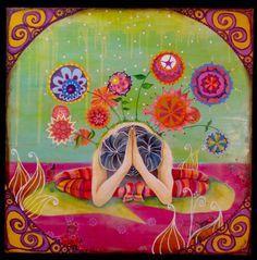 yoga paintings art - Google Search