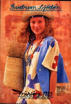 Gudrun Sjödén Catalogue - Spring 1993