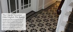 hall/entry by Olde English Tiles