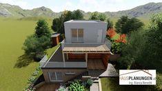 Kleingartenwohnhaus Plutos 51 Flat Roof, Homes