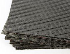 Carbon fibre weave - School Of Architecture - Materials Lab