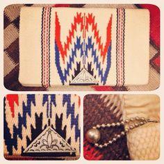1940's ganscraft chimayo purse