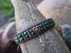 Chan Luu Style Beaded Leather Bracelet with by YouMeUsDesigns