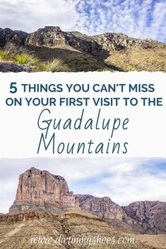 Guadalupe Mountains National Park has so many great things to do, but if you have never been to the park, or if you are the one planning the vacation, it can be hard to know where to go and what to do. I've got you covered with this list of things you can't miss on your road trip. Check out these Guadalupe Mountains travel tips and have a fun adventure!