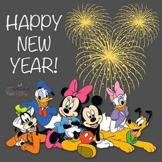 happy new year to all my disney friends and family disney