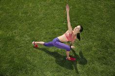 Kräftigungsübungen für Draussen: Diese 5 Übungen können sie überall und jederzeit ausführen - und stärken damit die für Läufer wichtigen Rumpf- und Beinmuskeln.