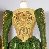 Gown worn by Winona Ryder as Elisabeta in Bram Stoker's Dracula. Costumes by Eiko Ishioka.n