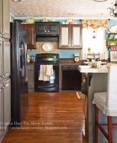 Far Above Rubies: More spring farmhouse kitchen...