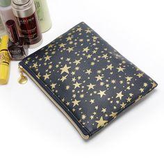 星星图案薄片款式化妆包彩妆 收纳包 卡包手拿包-淘宝网