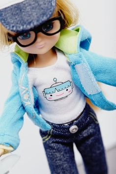 Lottie Doll: She's an alternative to Barbie, shaped like an actual girl with cool themes like karate and robots.
