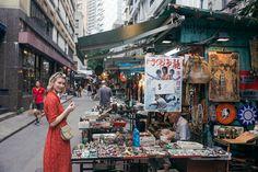 Cat Street Market Vintage Hong Kong via Zanita