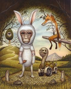 the_hare_and_the-tortoise Naoto Hattori