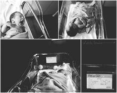 Fresh 48: Harper | Front Royal, Virginia Newborn Hospital Photographer » Little Birdie Photography