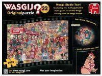Wasgij? #22: Wasgij Studio Tour (1500) What You See, Jigsaw Puzzles, Tours, Studio, Image, Study, Puzzles, Studying