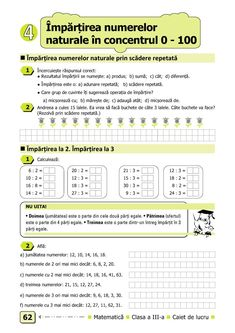 Clasa a III-a : Matematică. Clasa a III-a Math 2, After School, Periodic Table, Periodic Table Chart, Periotic Table