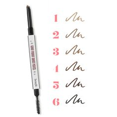 Goof-proof brows...really! The glide-on formula of goof proof eyebrow pencil in six beautiful shades promises an easy-breezy brow filling.