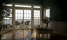 windows and doors. How to Choose Quality Aluminum Windows and Doors: Window Pet Door Accordion Patio Doors Sliding Glass Doors For Sale Storm Doors For French Doors French Entry Doors Exterior Doors, Exterior Doors With Glass, Best Blinds, French Doors Interior, New Homes, Interior Design School, Sliding Glass Door, Home Decor, Sliding Patio Doors