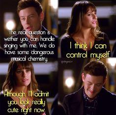 Glee -- Finn & Rachel