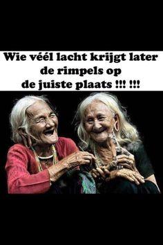 Lachen is gezond