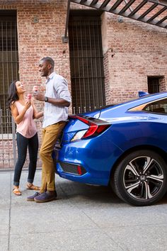 Your heart will race in the sleek and sporty Honda Civic Coupe with up to 174 horsepower.