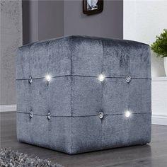 Living Room Inspiration, Shades Of Grey, Outdoor Furniture, Outdoor Decor, Decoration, Modern Design, Ottoman, Home Decor, Gray