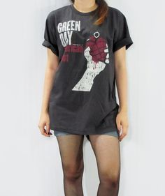 I've been wanting a green day shirt but I don't really like the ones at hot topic.