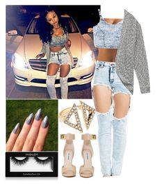 """india westbrooks"" by reinlove ❤ liked on Polyvore featuring LOTTA, Forever 21, Steve Madden, Inglot and Aqua"