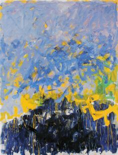JOAN MITCHELL, 'La Grande Vallee XX', 1983-84, oil on canvas, 110 1/4 x 78 3/4 in, Collection of Jean Fournier