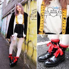〈Name〉Moe 萌愛 〈Age〉 18 〈Height〉162 〈job〉University student 〈Location〉Harajuku 〈FashionPoint〉Suspenders and black 〈Message〉It was twitter follow! #forever21 #zara #flyingtiger #tutuanna #milklim #wego #colorfulhair #followme  #sgs109com #StreetFashion #StreetSnap #FashionSnap #Snap #Harajuku #HarajukuFashion #HarajukuStyle #KawaiiFashion #Kawaii #HarajukuGirl #JapaneseFashion #JapaneFashion #JapaneseStreetFashion #JapaneseStreetSnap #JapaneseStreetStyle #Fashion #原宿 #Girl #cute…