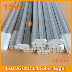 LED Dual Tubes 2G11 Light