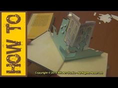 How to Make Pop-up Book - YouTube