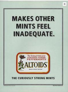 Lots more classic altoids ads on http://altoidsads.com