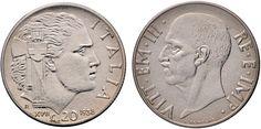 NumisBids: Nomisma Spa Auction 50, Lot 433 : Vittorio Emanuele III (1900-1946) 20 Centesimi 1938 A. XVII – Pag....