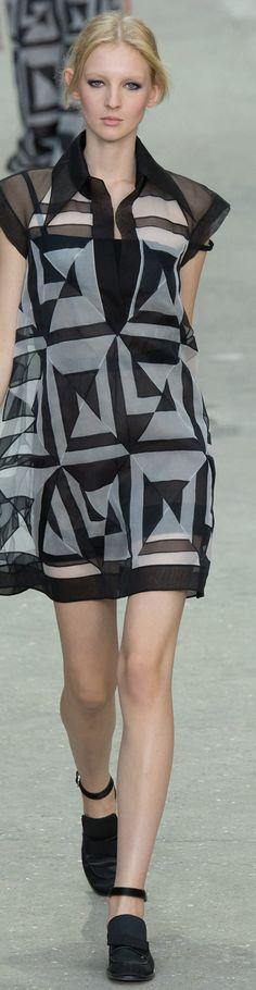 Défilé Chanel: Printemps-été 2015