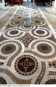 Anagni. Cathedral, floor ITA/Latium, Anagni    Photo by  Puku  RM  Image no. SM-716147
